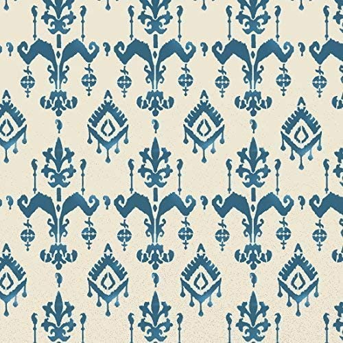 Moroccan Sumatra Ikat pattern stencil Home Decorative Painting stencil Reusable
