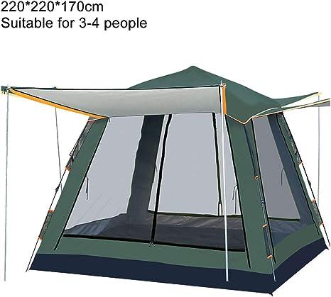 Gazebo emergente, Vista panorámica de 360 ° Gazebo Plegable Plegable portátil para Fiestas en el jardín al Aire Libre, para Playa/Refugio instantáneo/Mercado de pulgas/Camping/Boda,Verde: Amazon.es: Deportes y aire libre