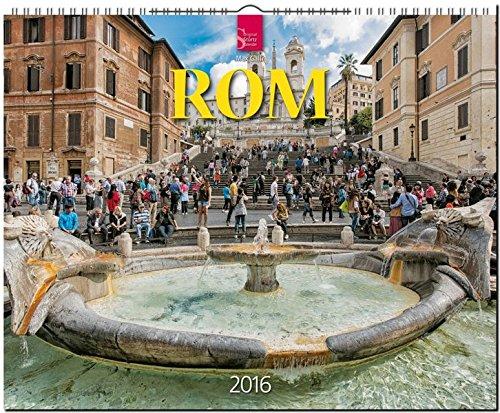 Rom 2016: Original Stürtz-Kalender - Großformat-Kalender 60 x 48 cm [Spiralbindung]