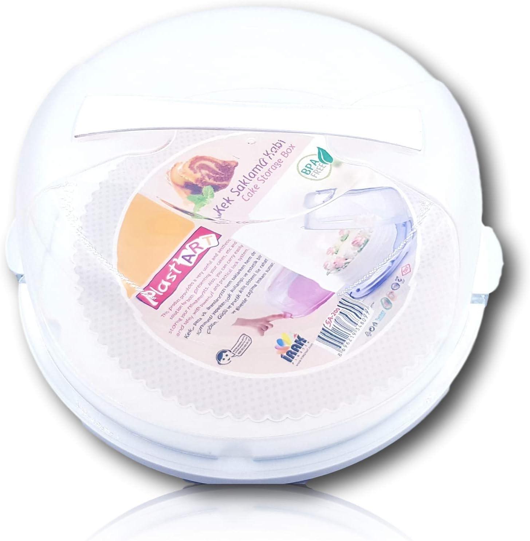 Contenedores para tartas, de plástico, tamaño grande, caja de ...