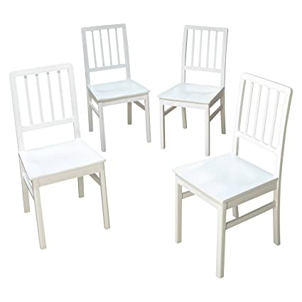 Tms Camden Dining Chair White Wash Set Of 4