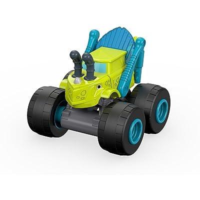 Blaze Grasshopper Zeg Mini Truck: Toys & Games