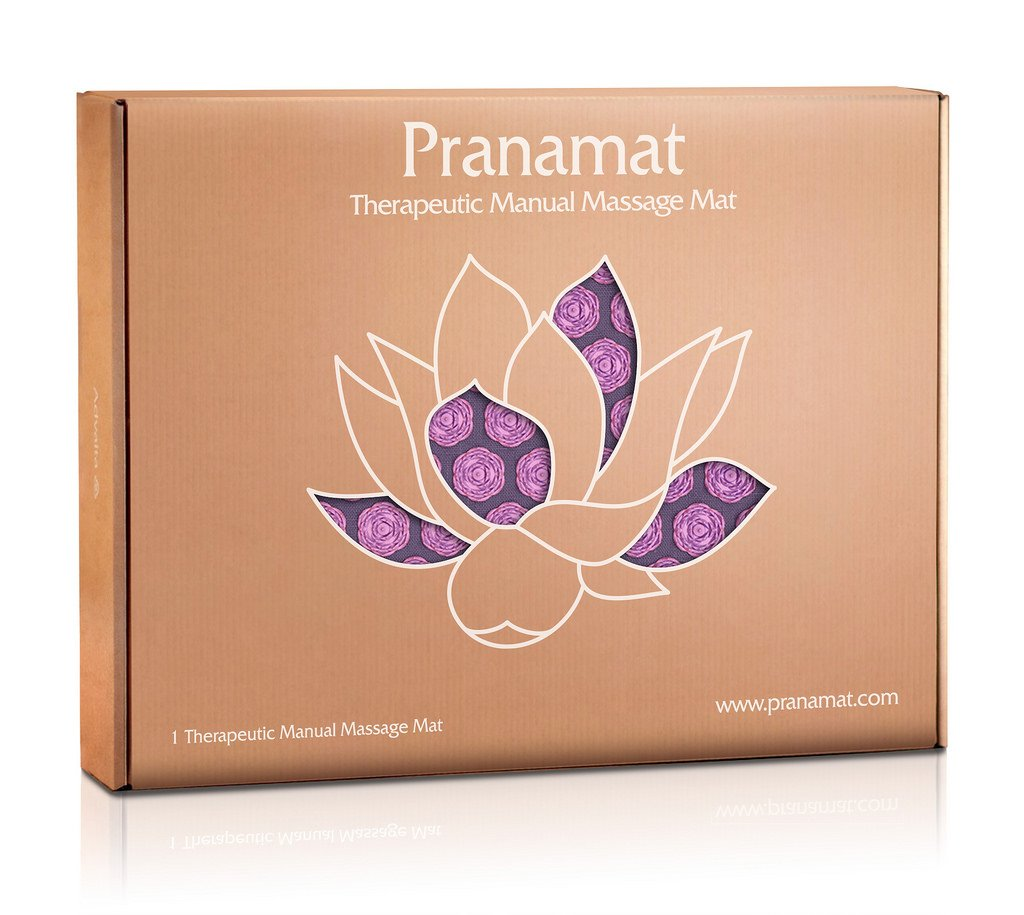 Pranamat ECO Therapeutic Manual Massage Mat (Lavender Lavender) by S-ANT (Image #8)