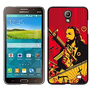 For Samsung Galaxy Mega 2 , S-type® Gun Revolution Communism War - Arte & diseño plástico duro Fundas Cover Cubre Hard Case Cover