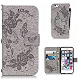 Wallet Case for Apple iPhone 6 Plus / 6s Plus CUSKING Stand Flip