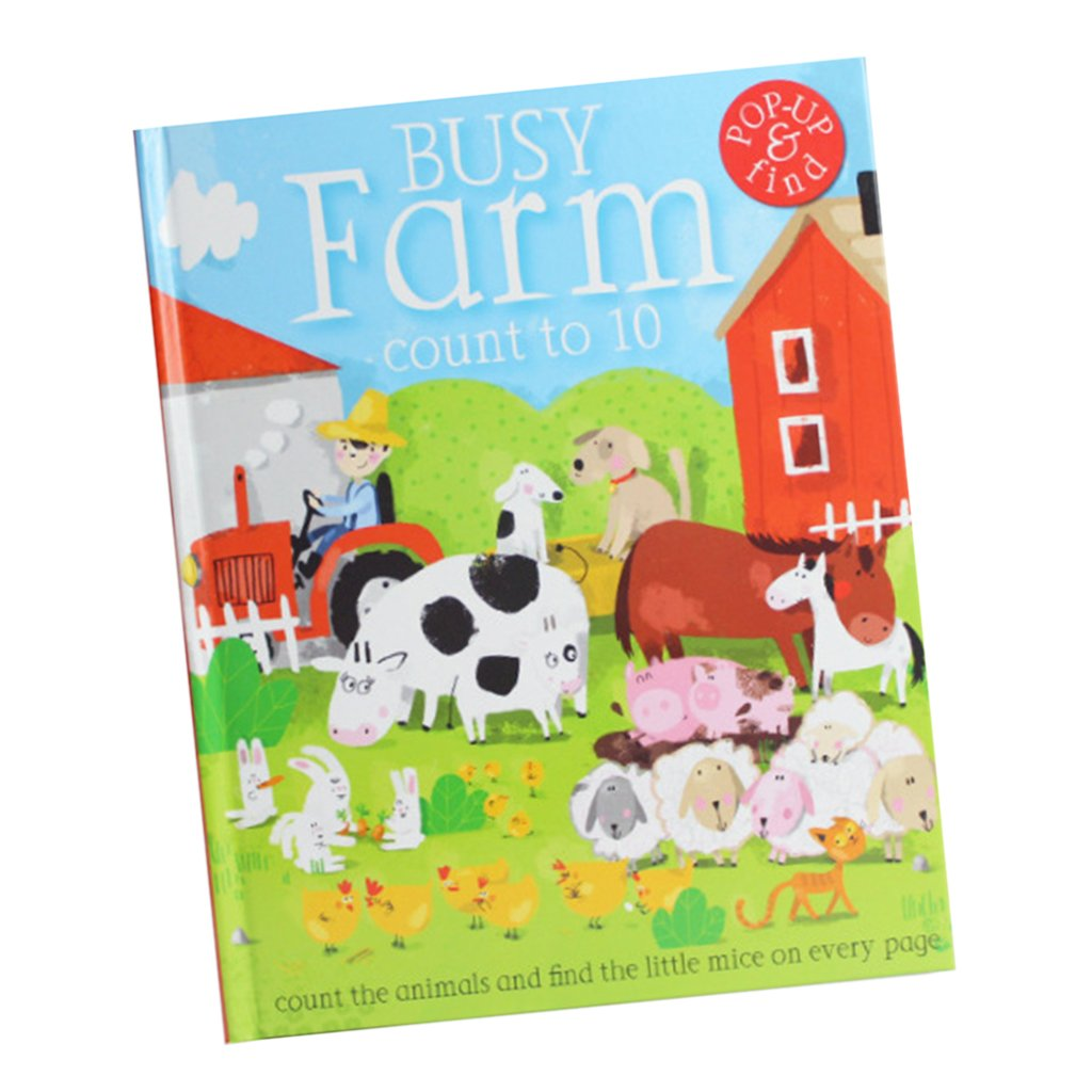 Fityle 3D Pop Up Books for Kids Boys Girls (Story Book, Baby Book, Children's Book) - A busy farm by Fityle (Image #9)