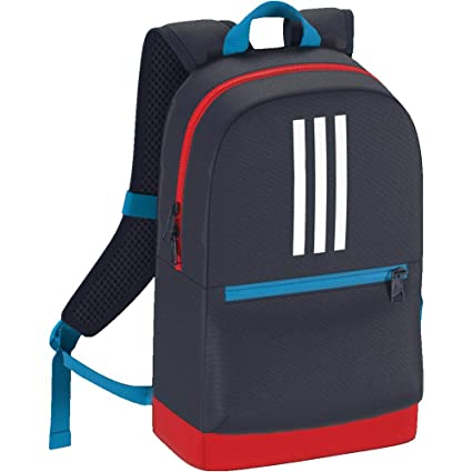 Adidas Kids Navy Blue 3-Stripes Backpack  Amazon.in  Bags 009e7ff0f