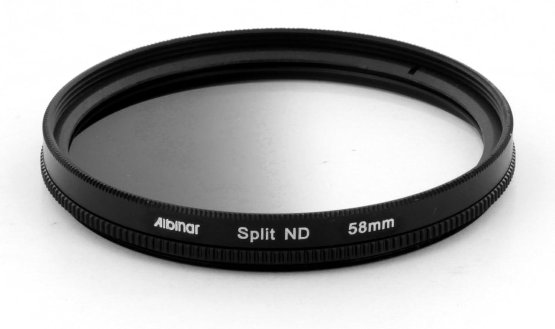 Albinar 67mm Split Gradual Neutral Density ND Pro Filter