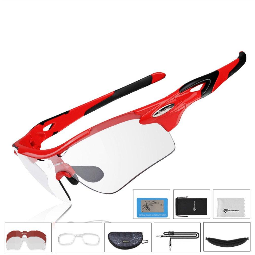 Gafas de sol RockBros para ciclistas polarizadas y fotocromáticas, ligeras