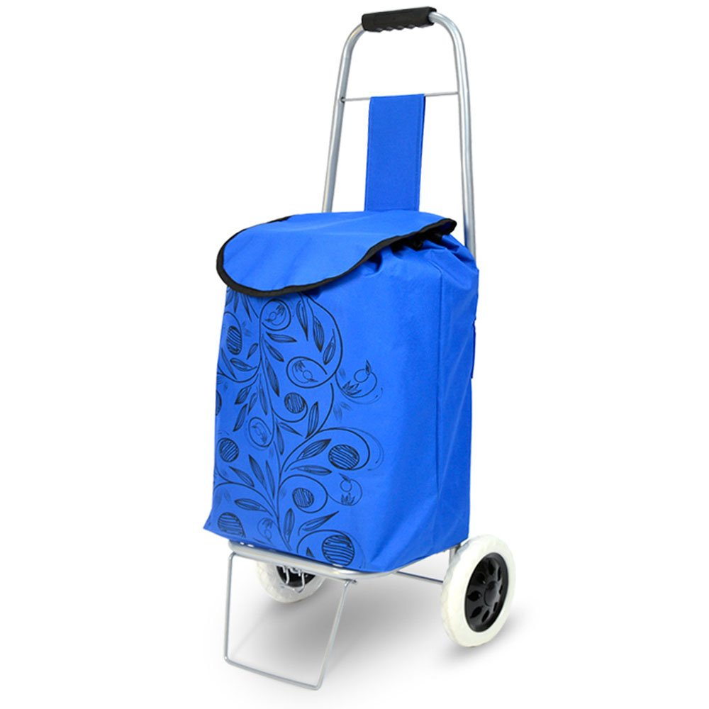 ETERLY Trolley Folding Shopping Cart Pull Goods Trolley Truck Shopping Cart Trolley Car Portable Trailer