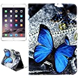 SRY for iPad protection Smile & Wave Pattern Horizontal Flip Leather Case with Holder & Card Slots & Wallet for iPad Mini 3 / 2 / 1 simple & fashion ( SKU : S-MIP3D-0013F )