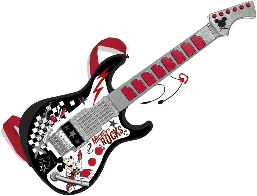 Mickey Mouse - Guitarra con micrófono (Claudio Reig 5370.0): Amazon.es: Juguetes y juegos