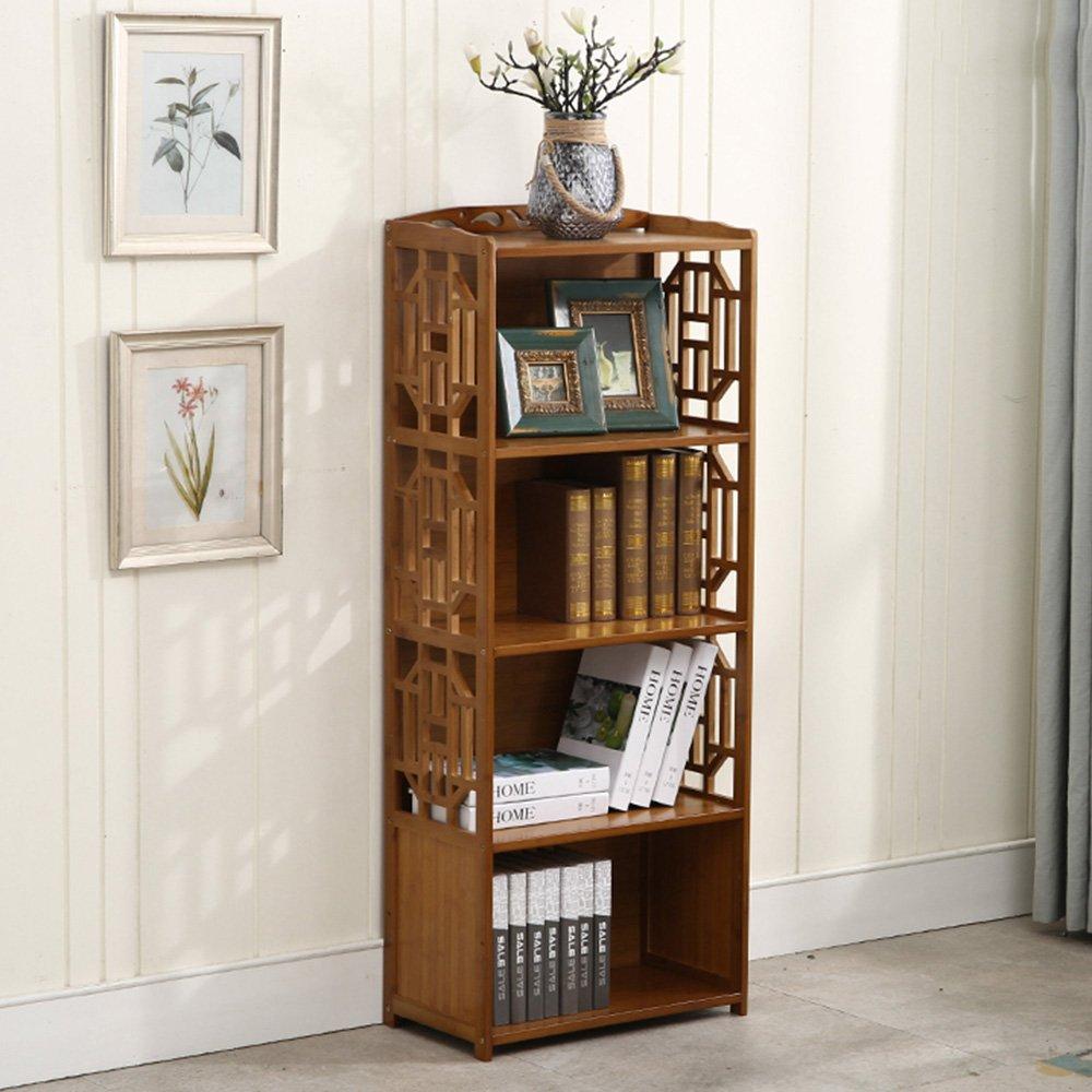 Biblioteca Sexy Estantería de bambú Multifuncional de 3 Niveles ...