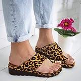 2019 New Women Comfy Platform Toe Ring Wedge