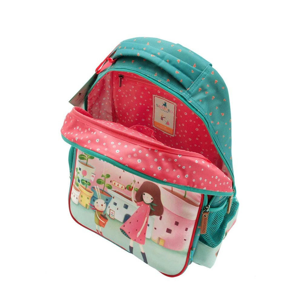 Amazon.com : Santoro London Kori Kumi Rucksack Melon Showers Back Pack : Sports & Outdoors