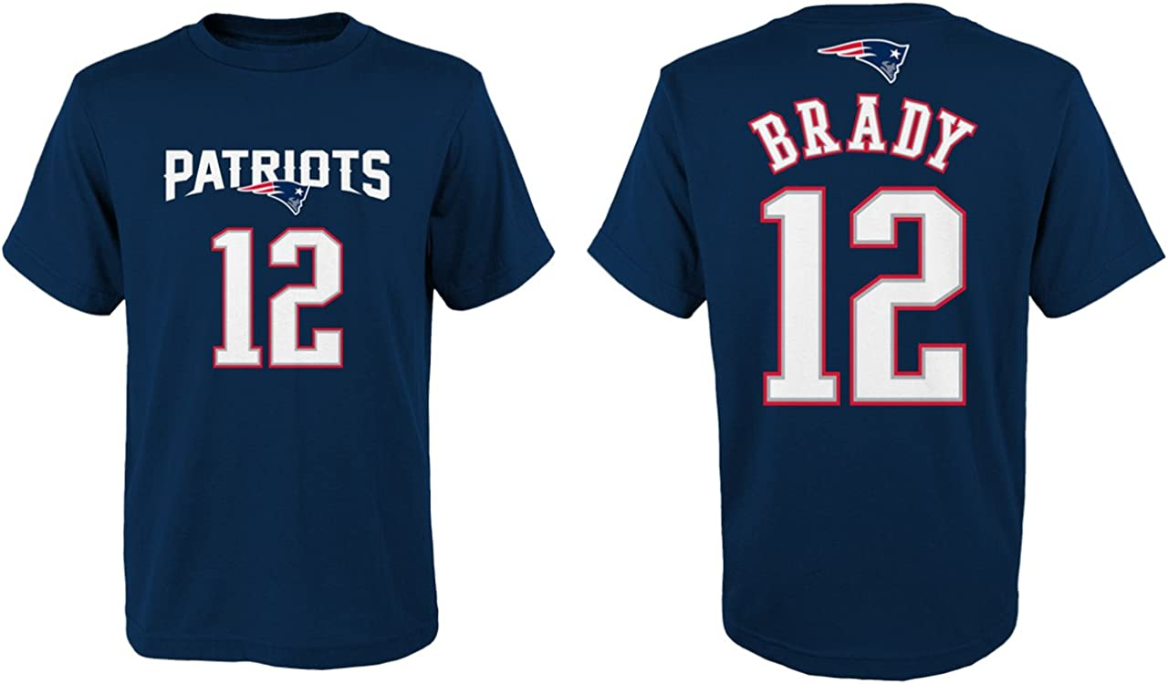 Tom Brady New England Patriots Youth Nike Game Navy Jersey Youth X-Large 18-20