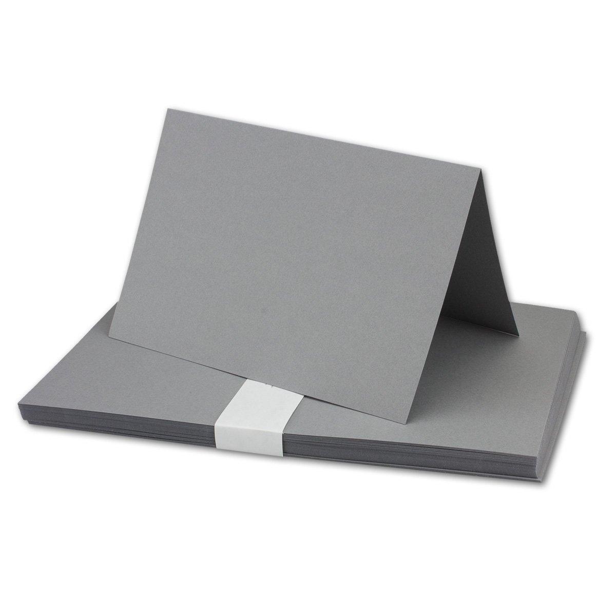 250x Falt-Karten DIN A6 Blanko Doppel-Karten in Hochweiß Kristallweiß -10,5 x 14,8 cm   Premium Qualität   FarbenFroh® B079VKRLTG | Shop Düsseldorf