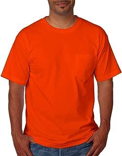 product image for Bayside Mens USA-Made Short Sleeve T-Shirt 5070 - XXX-Large - Orange