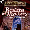 Realms of Mystery: A Forgotten Realms Anthology Audiobook by Ed Greenwood, Elaine Cunningham, Jeff Grubb, Brian M. Thomsen Narrated by Nicol Zanzarella, Michael Rahhal