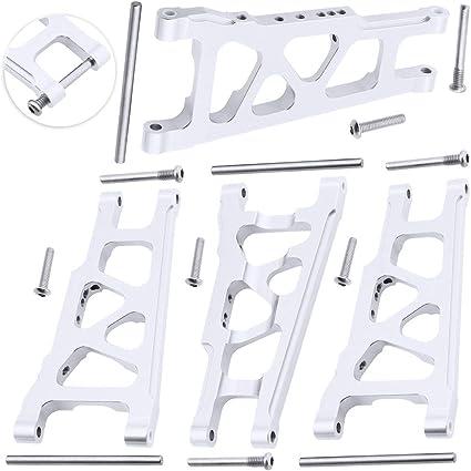/& Steering Blocks for 1//10 Traxxas Slash 4x4,Upgrade Replacement of 6832 6837 Hop Ups Hobbypark Aluminum Caster Blocks c-hubs Navy Blue