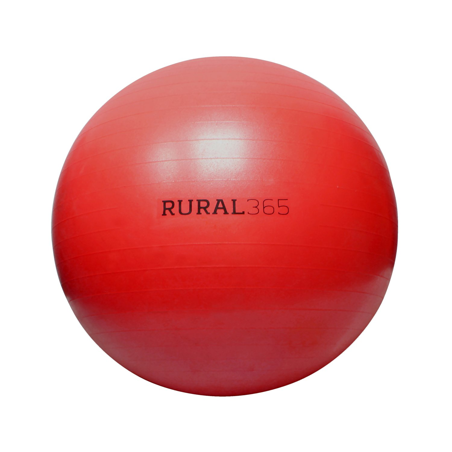Rural365 | Large Horse Ball Toy in Red, 40'' Inch Ball Anti-Burst Giant Horse Ball - Horse Soccer Ball, Pump Included by Rural365