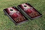 Miami Heat NBA Basketball Regulation Cornhole Game Set Museum Version