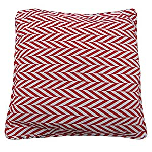 """White 30cm Cotton Pillow Cover Abstract Floral Cushion Cover Handmade Cushion Case 12"""" India Gift Art"""