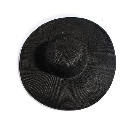 d5479ca3d63c8 TOPWEL Women Girls Large Brimmed Garden Beach Big Summer Sun Hat Swimming  Garden Beach Straw Hat