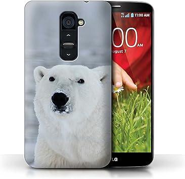 Stuff4 Carcasa/Funda Dura para el LG G2 / Serie: Ártico Animales ...