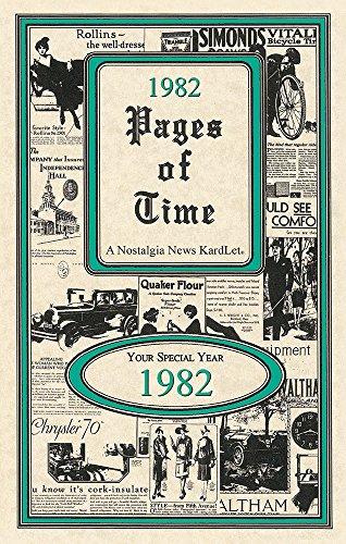 Seek Publishing 1982 Pages of Time Kardlet (PT1982)