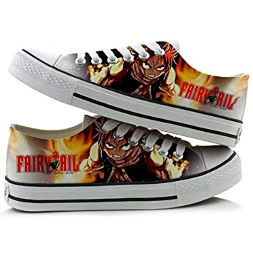 Fairy Tail Natsu Lucy Cosplay Shoes Canvas Shoes Sneakers 2 Choices