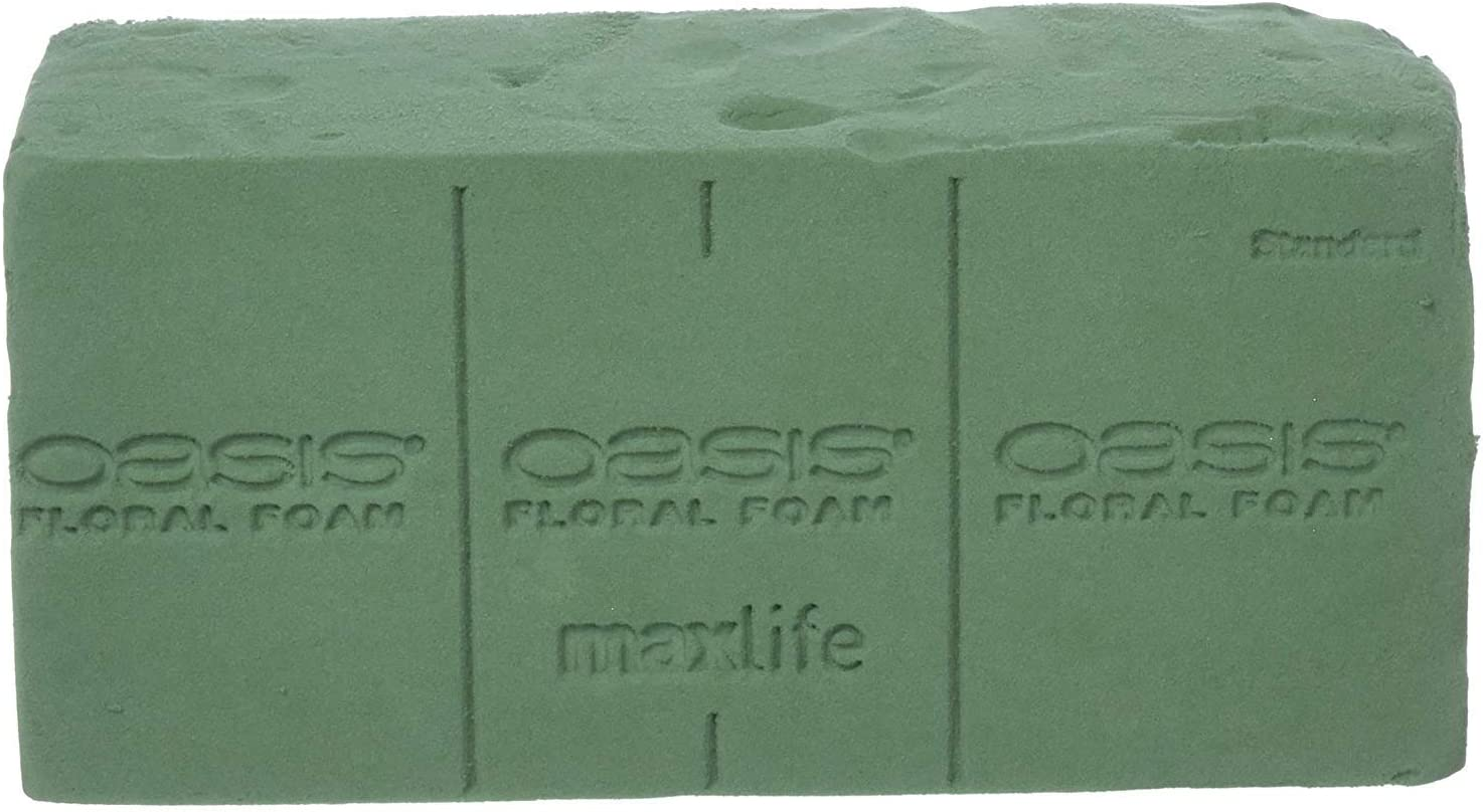 FRESH FLOWERS. 2 X OASIS FLORAL WET FOAM BRICKS MAXLIFE BLOCKS