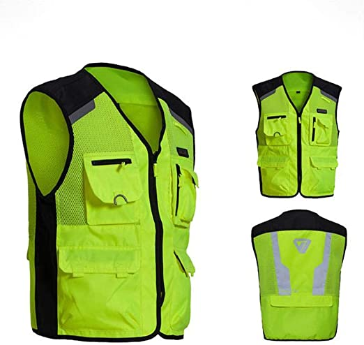 Mujer Hombre Hola chaqueta de seguridad Chaleco de seguridad for ...