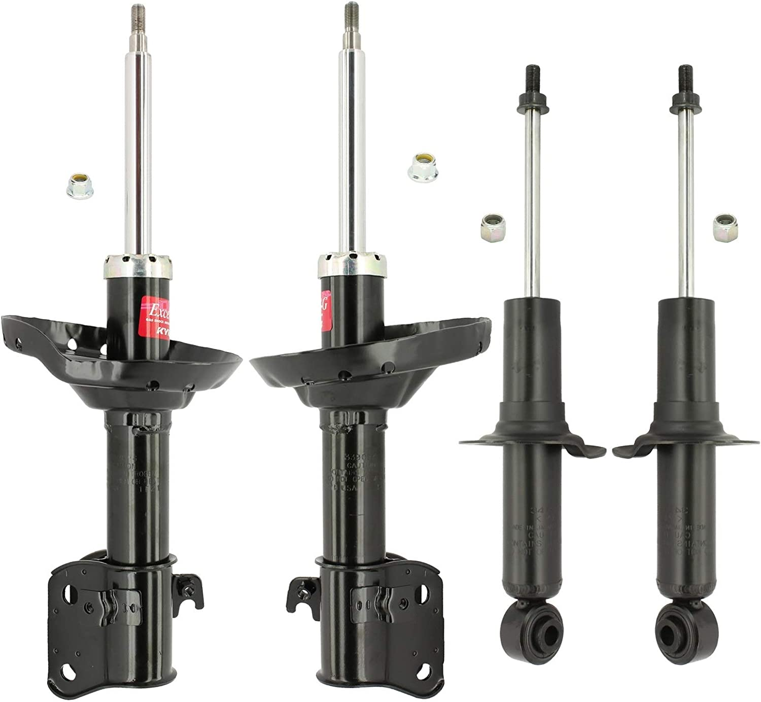 KYB Front and Rear Suspesnion Struts Kit Excel-G For Subary Legacy AWD 2005-2009