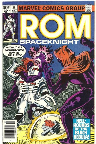 ROM Spaceknight #6 (Dog Day Afternoon!)