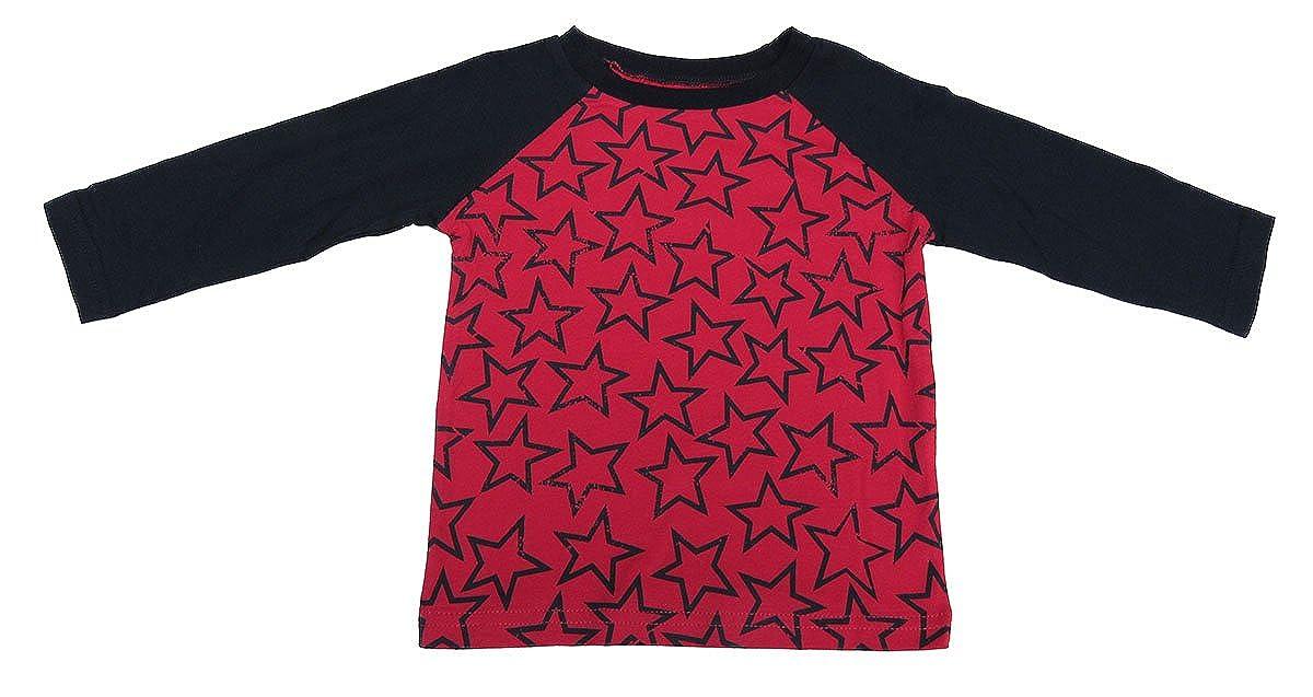 2019年新作入荷 First Impressions star-print Impressions Baby Boy raglan-sleeve star-print First Tシャツタンゴレッド18ヶ月 B072PV919P, ギノザソン:3a82311f --- a0267596.xsph.ru