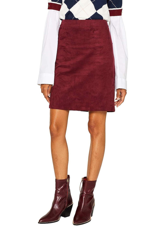 Esprit - Falda para Mujer Burdeos. 34: Amazon.es: Ropa y accesorios