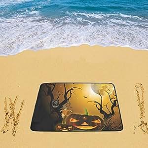 Impermeable sandless alfombrilla de playa manta de Picnic al aire libre Camping alfombra manta de Halloween para playa 78x 60cm