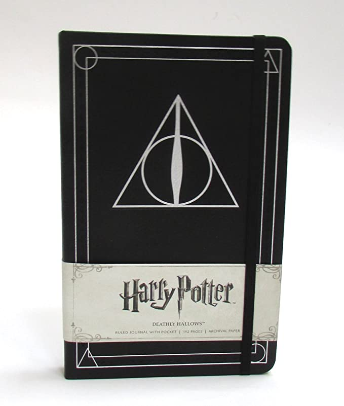 Harry Potter Deathly Hallows Hardcover Ruled Journal: Deathly Hallows, Ruled (Insights Journals)