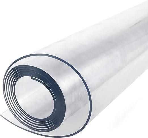 Protector de mesa de plástico transparente resistente de 2 mm para ...