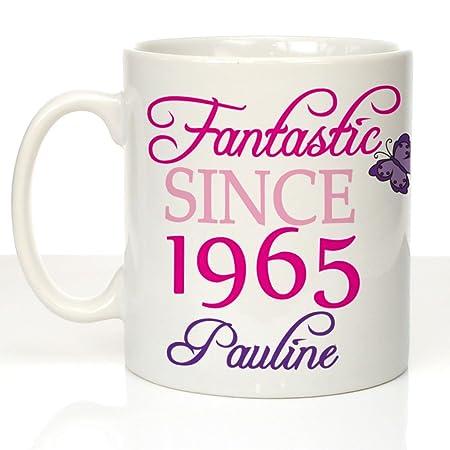 Personalised 50th Birthday Message Mug Womens 50th Birthday Gift