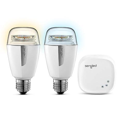 Sengled Element Bombilla LED E27, 9.8 W, Blanco, 6x6x11.9 cm,