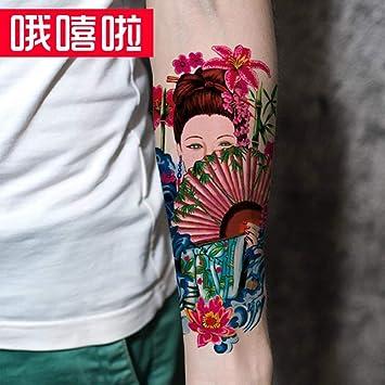 Tatuaje Pegatinas De Tatuaje De Brazo De Flor A Prueba De Agua ...