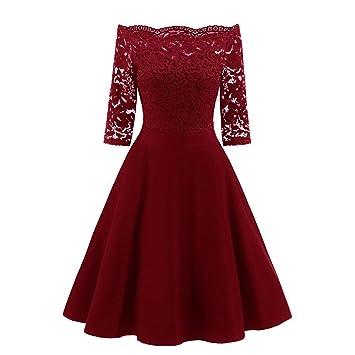 Vestidos largos mujer Sexy Vestido de fiesta de noche de mujer Vestido patchwork de encaje vintage