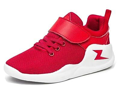 VECJUNIA Jungen Sneaker Rutschfest mit Abriebfeste Sohle