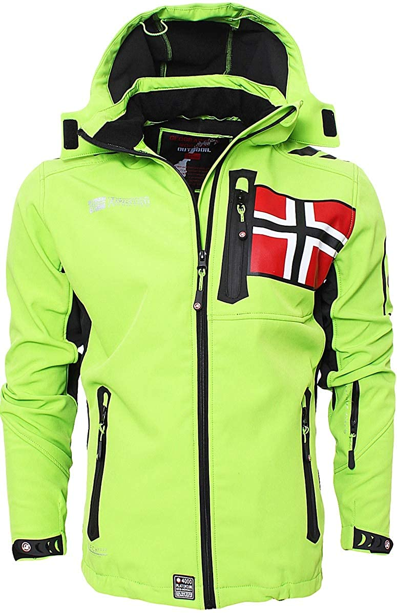 Geographical Norway para Hombre Verde X-Large Chaqueta