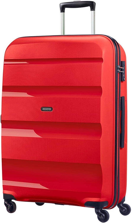 American Tourister - Bon Air - Spinner Equipaje de mano 55 cm, 32 L, Rojo (Magma Red)