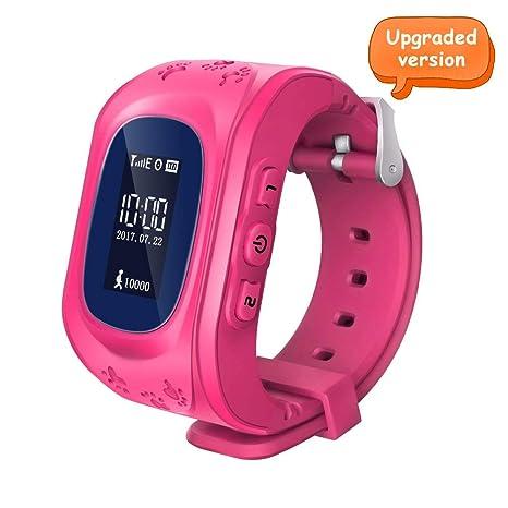 Amazon.com: ITwood - Reloj inteligente para niños con ...