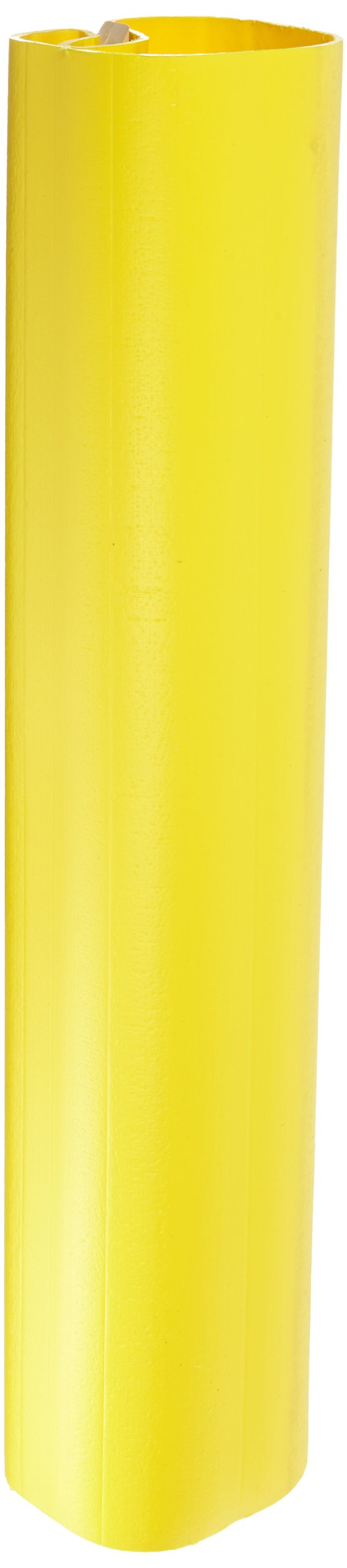 UltraTech 1521 HDPE Ultra-I-Beam Protector, 7-1/2'' Length x 8-1/2'' Width x 36'' Height, Yellow