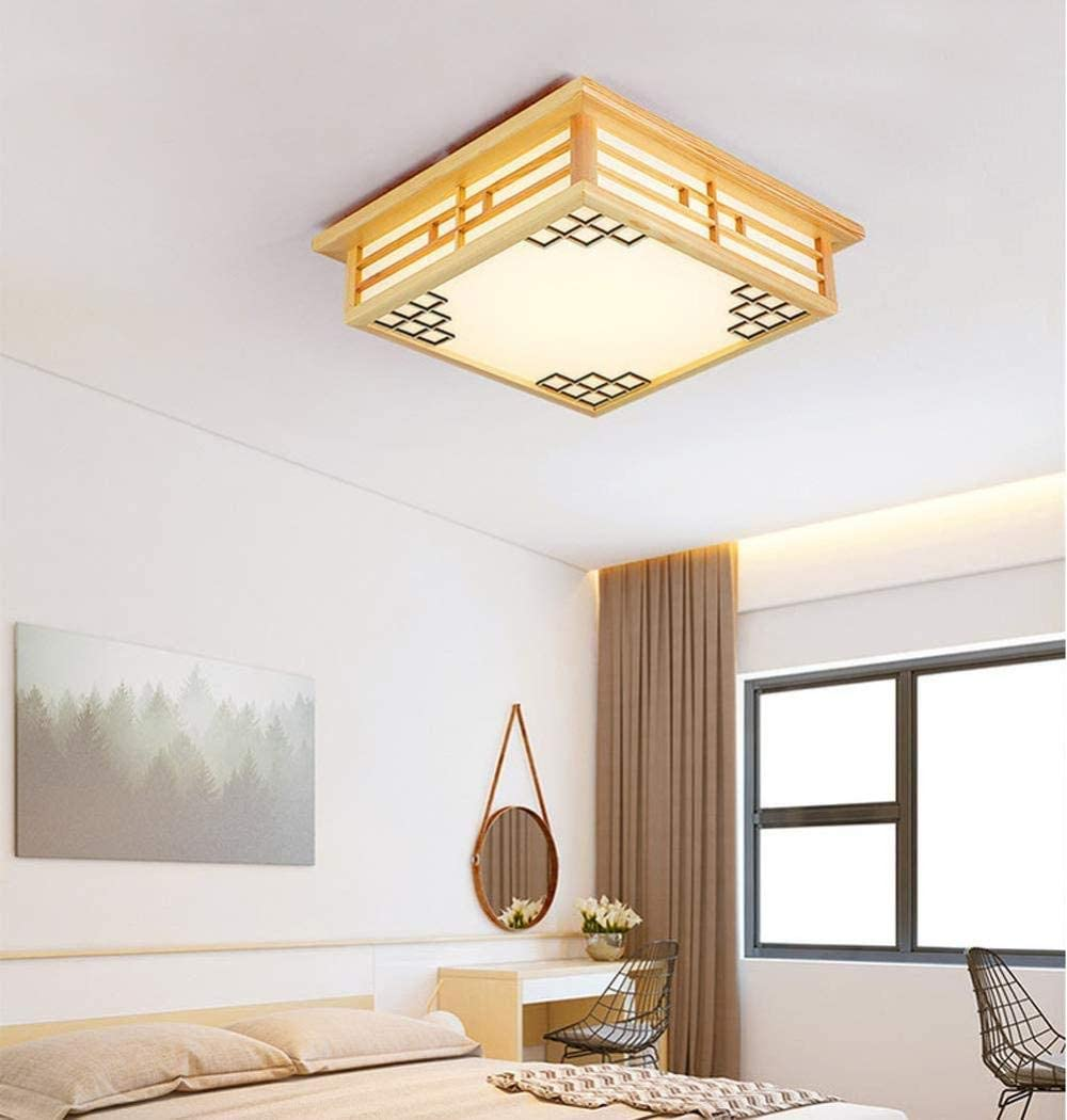 Wooden Ceiling Light Led Tatami Lamp Japanese Bedroom Lamp